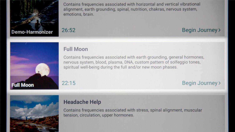 Full Moon Journey in the BetterGuide App