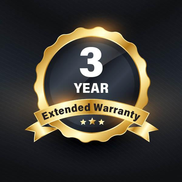 3yr warranty