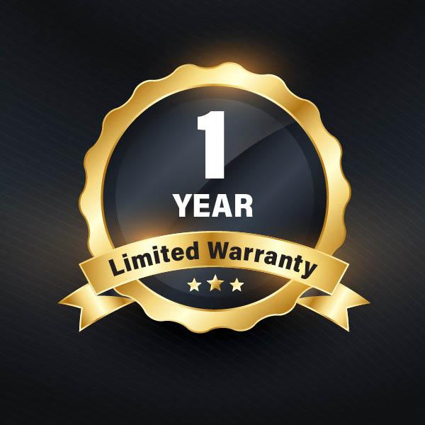 1yr warranty